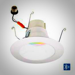 Nora RGBW Retrofit color changing downlight - Prisim-