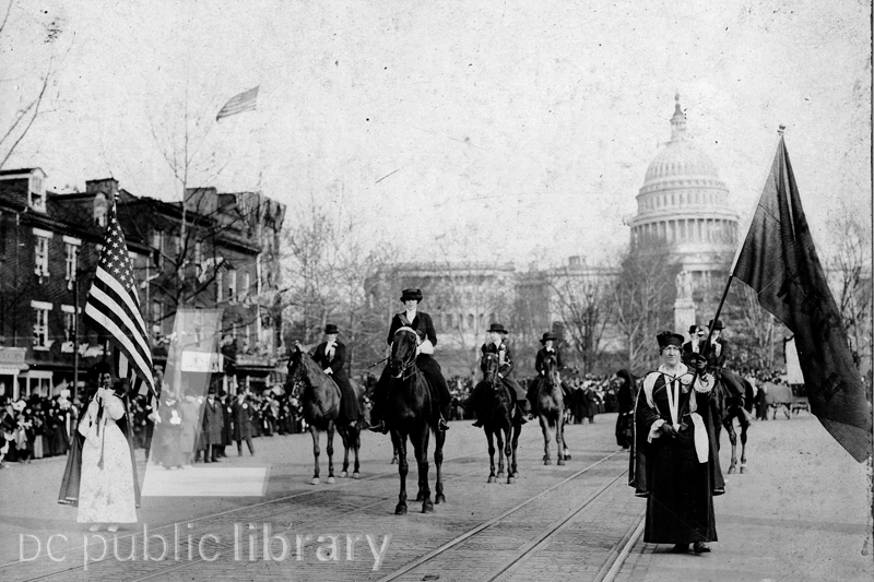 The 1913 Women's Suffrage Parade | Library Of Congress