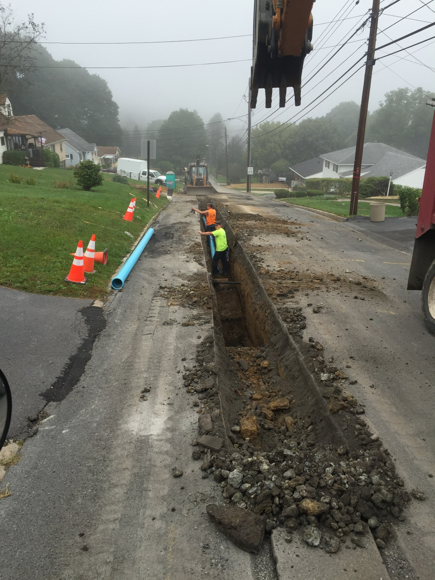 Eugene St Waterline Replacement