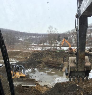 City of Johnstown Dump Site Pond