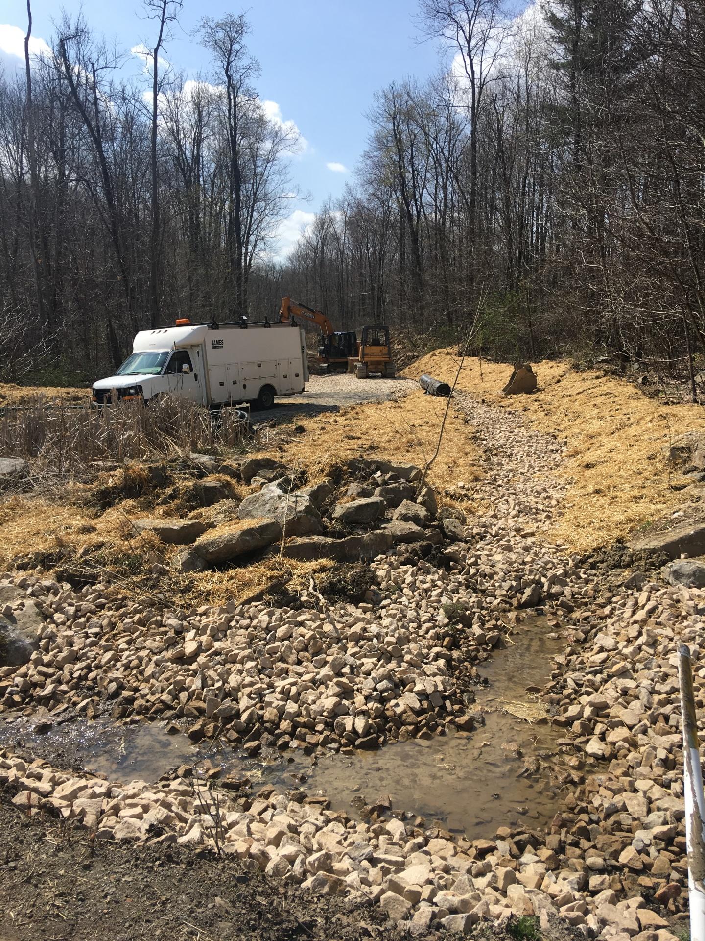 Oven Run Stream Restoration