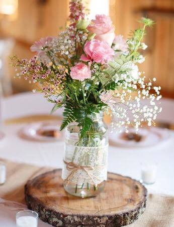 Country Chic Centerpiece