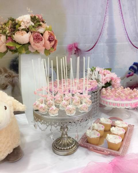 Lamb Baby Shower
