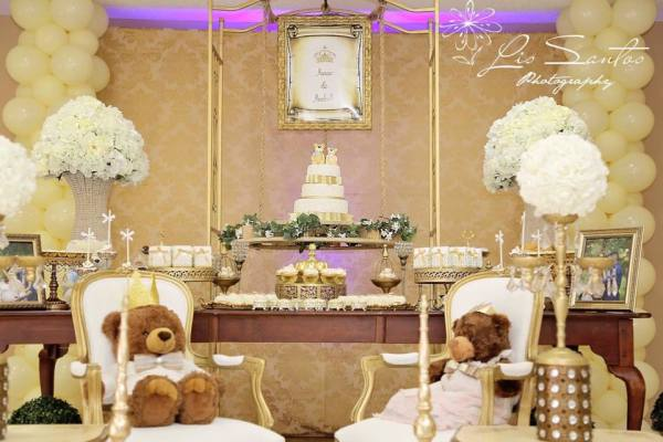 Royal Bear Baby Shower