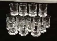 custom glass etching, glass etching, etched shot glasses