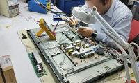 Reparación en monitores