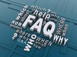 Frequently Asked Questions.