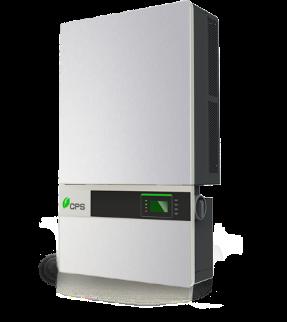 Convertidores de cadena de 50 y 60kW, 1000Vcc para América del Norte