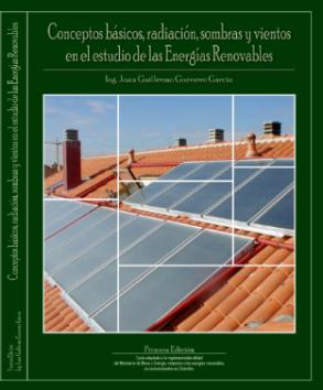 Libro Conceptos básicos, radiación, sombras y vientos en el estudio de las Energías Renovables