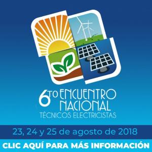 6to Encuentro Nacional de Técnicos Electricistas