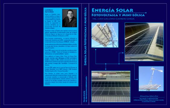 TEMARIO Y DESCRIPCIÓN DEL LIBRO DE ENERGÍA SOLAR FOTOVOLTAICA Y MINI-EÓLICA