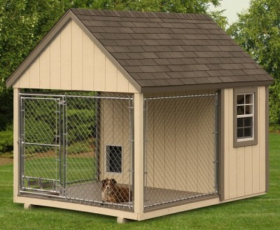 Enclosed Kennels