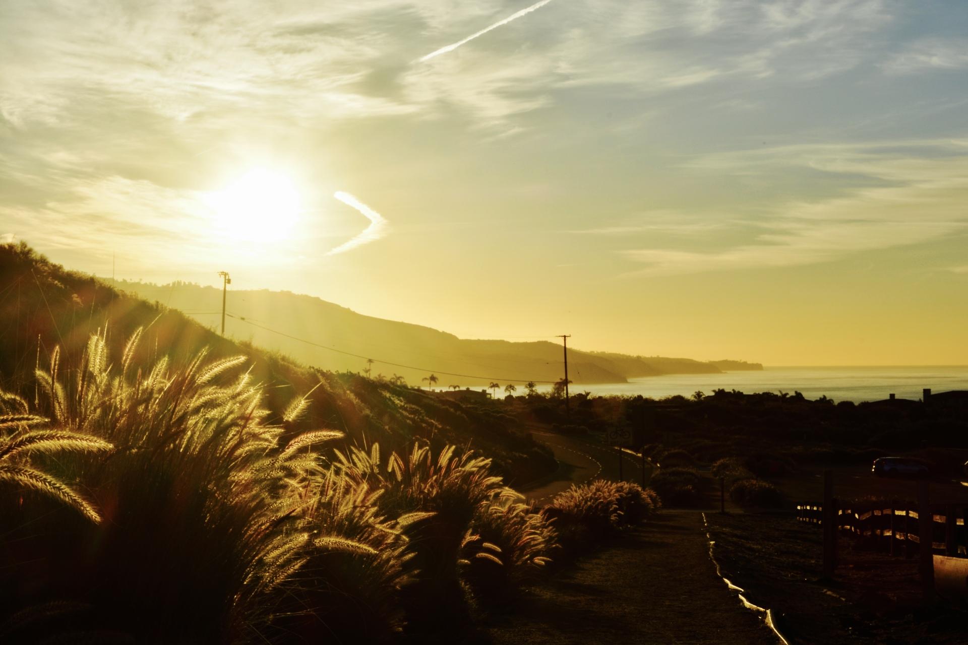 Sunrise in Rancho Palos Verdes, CA