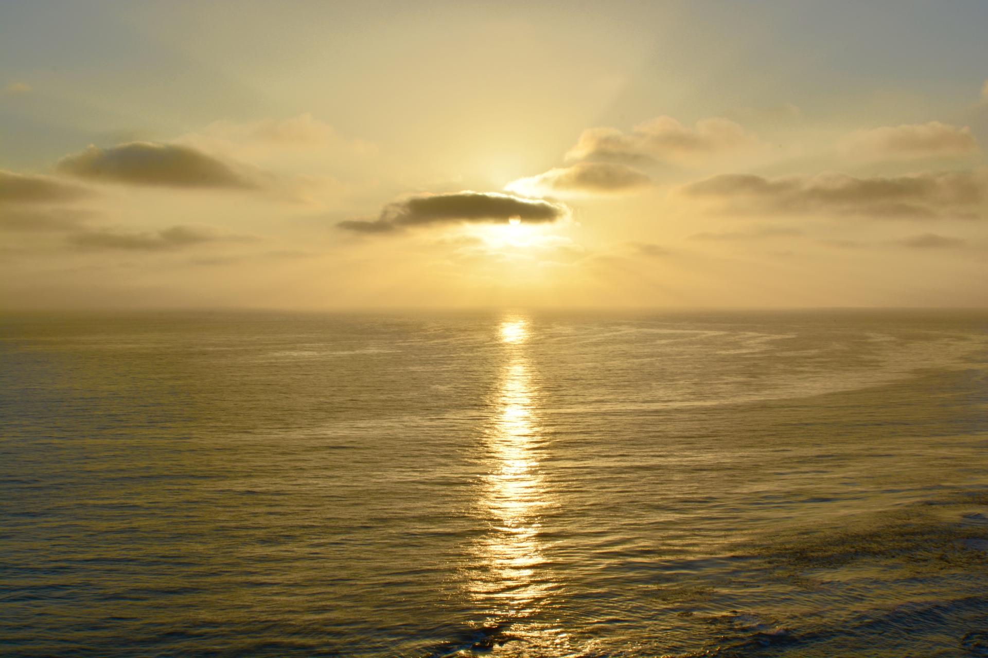 Tonight's Sunset - Golden Magic
