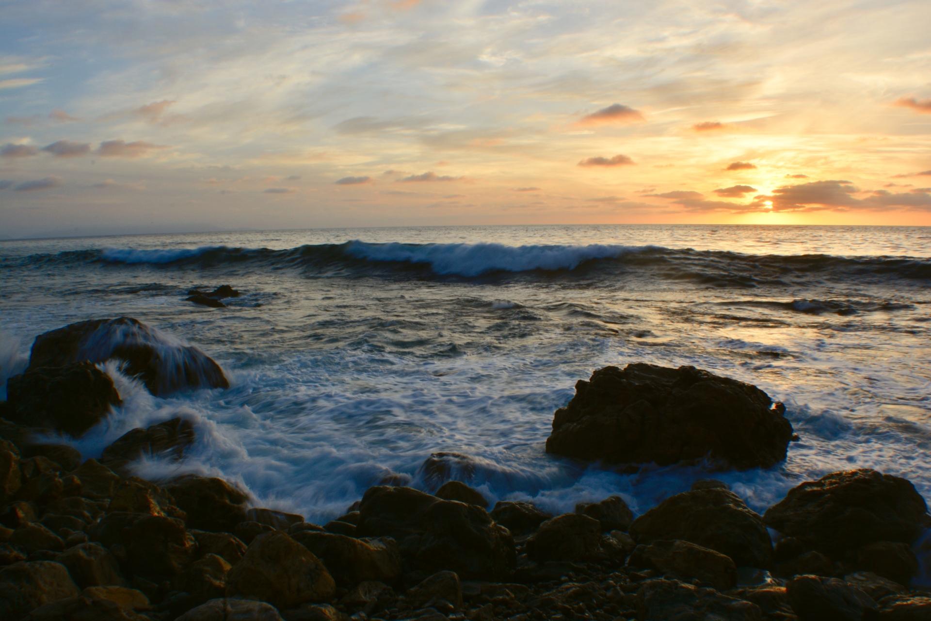 Beautiful Ocean Sunset Tonight