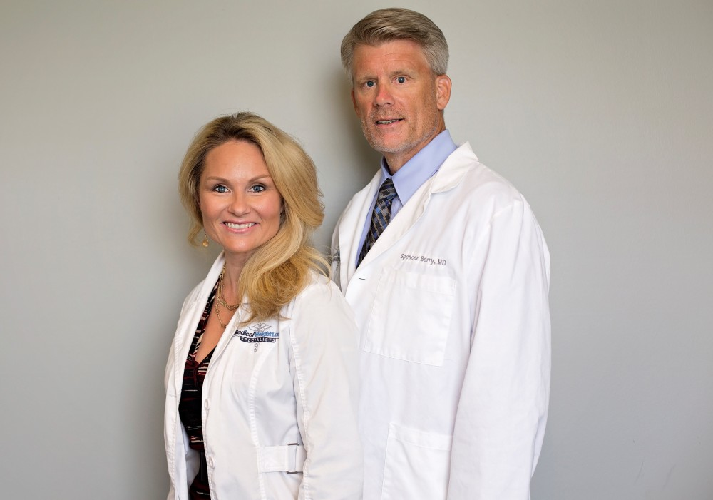 Spencer Berry, MD and Nichole Jackson, FNP-C