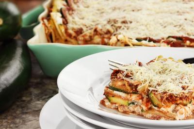 Italian Zucchini Lasagna (Serves 6)