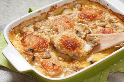Creamy Swiss Chicken (Serves 6)