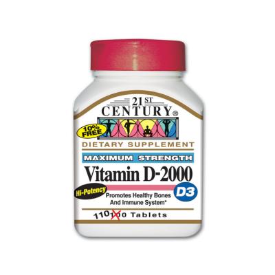 Maximum Strength Vitamin D-2000