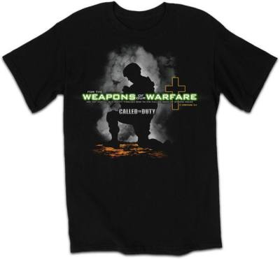 Weapons of Warfare Mens Christian T Shirt