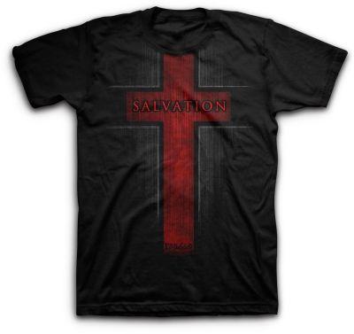 Salvation Mens Christian T Shirts