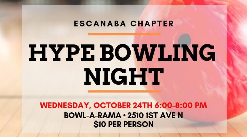 Escanaba hYPe Bowling Night