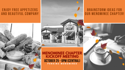 Menominee Chapter Kickoff Meeting
