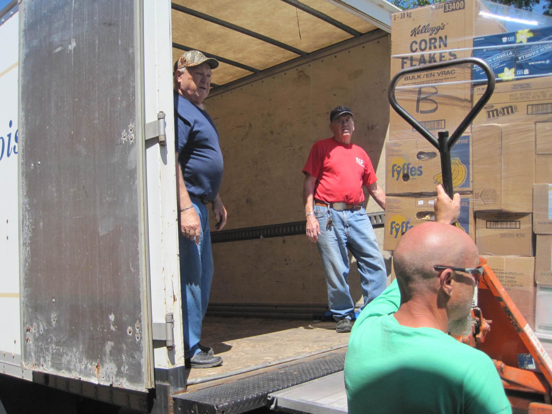 Food Delivery To Good Samaritan Inn