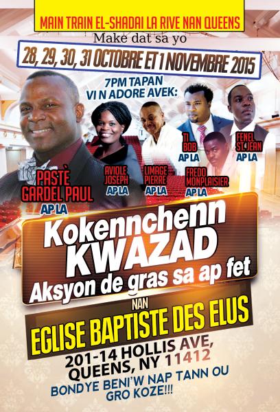 Crusade in Queens, NY - October 2015