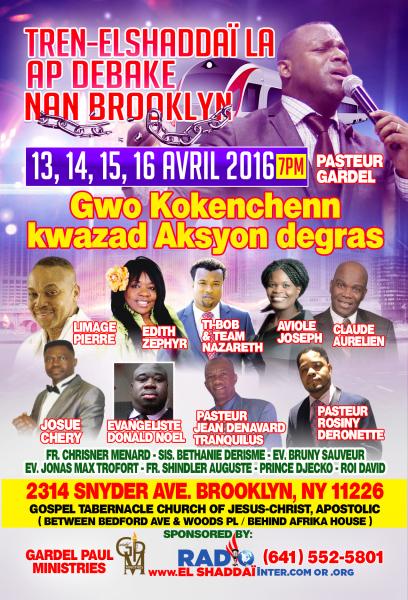 Crusade In Brooklyn - April 2016