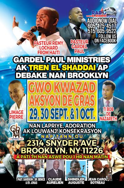 Crusade in Brooklyn, NY - Sept 2016