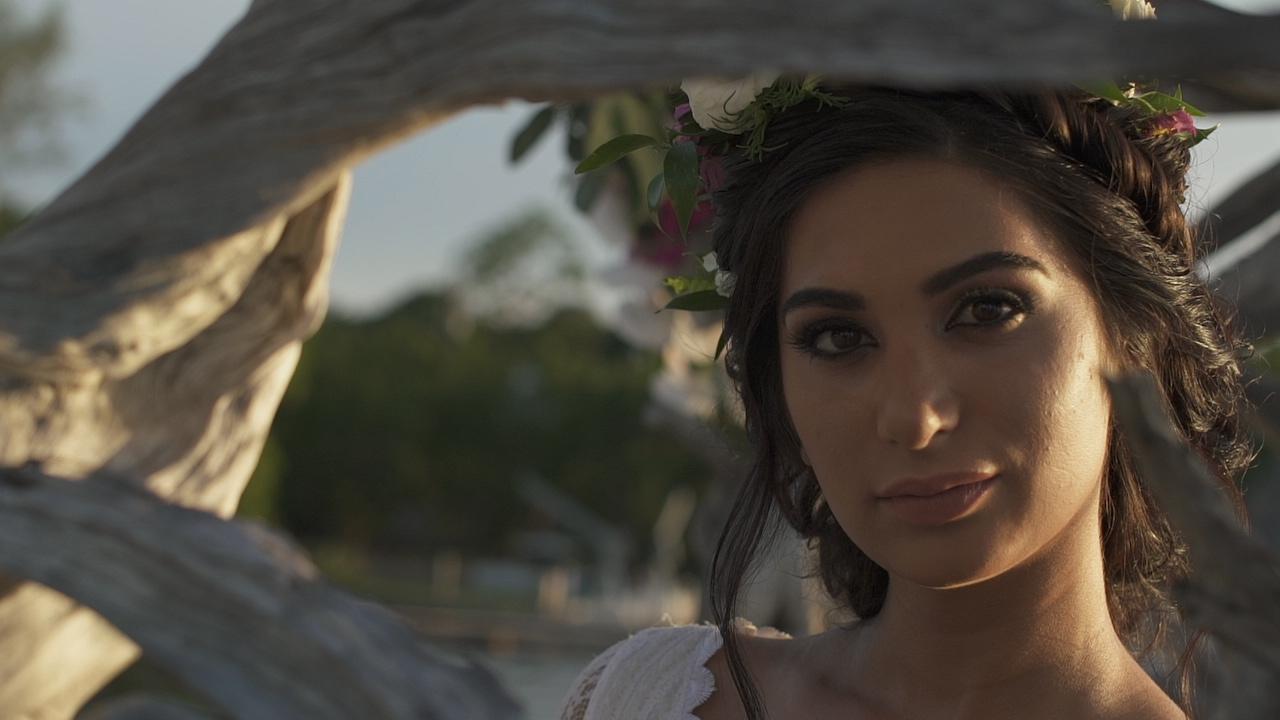 Romantic Tropical Wedding Inspired Film
