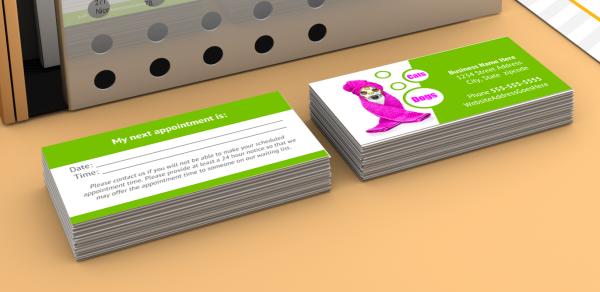 DIY Business card templates
