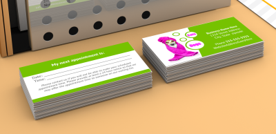 Dog grooming business cards templates