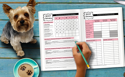 12 Month Marketing Planner & Printable Appointment Book