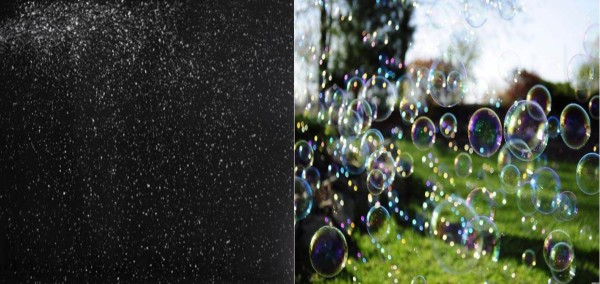 Snow and Bubbles