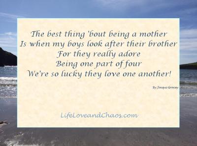 Light-hearted blogging limerick from LifeLoveandChaos.com