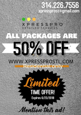 GRAB OUR PACKAGES FOR HALF OFF!