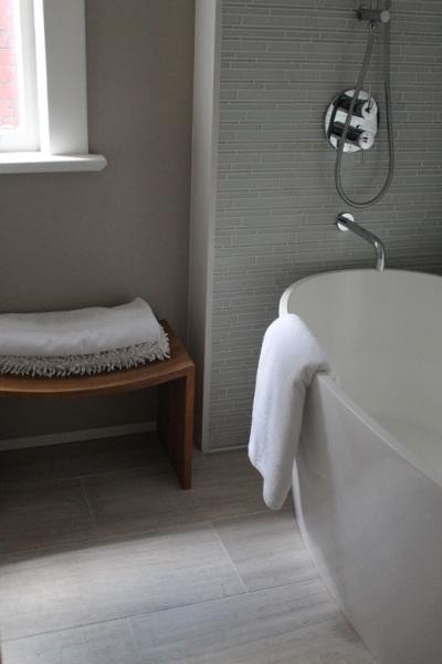 interior design of a modern bathroom in Toronto