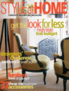 Style at Home magazine cover