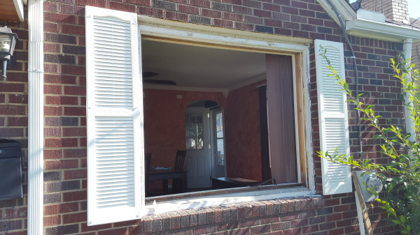 Removal of existing window