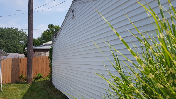 garage siding complete