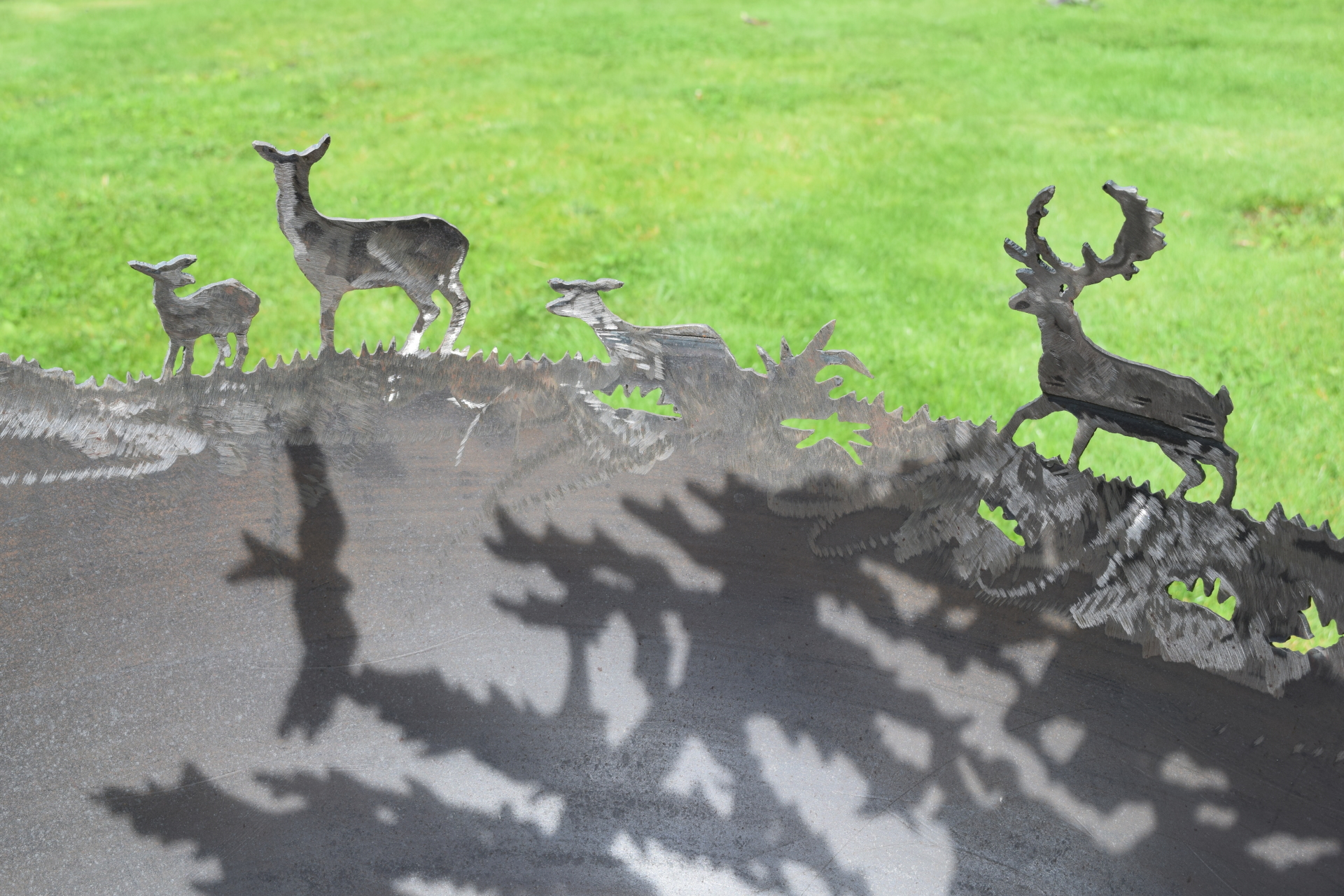 Deer and Kite