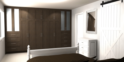 Custom Built-in Closet in Kingston