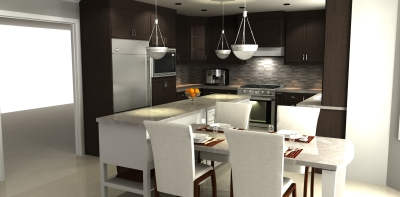 Contemporary Kitchen Design In Jacksonville