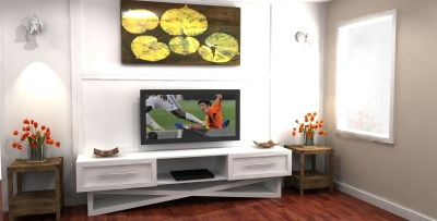3D design, tv unit design, wall unit renderings, millwork design