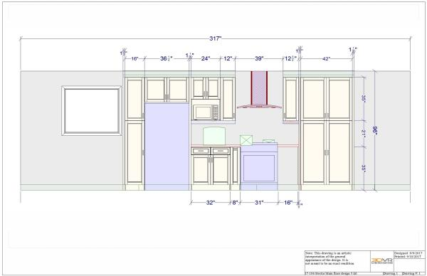3d rendering, front view, 3d vr designs, kitchen layout, virtual reality, vr designs, virtual reality interior design