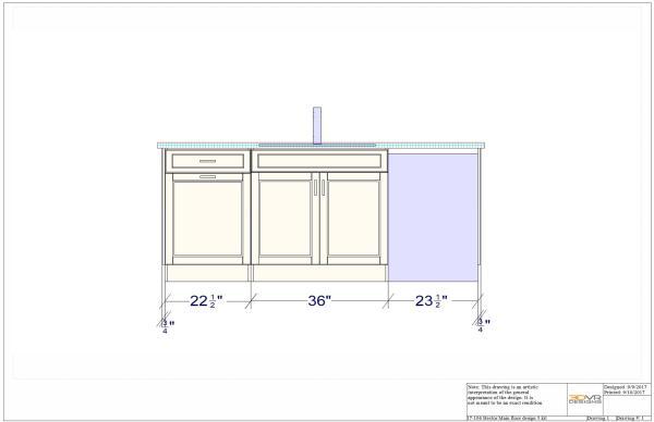 3d rendering, front view, 3d vr designs, island layout, virtual reality, vr designs, virtual reality interior design