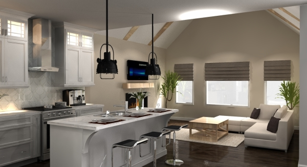 3d rendering, 3d vr designs, kitchen layout, virtual reality, vr designs, virtual reality interior design