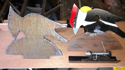 Woodpecker in Raw and Finished